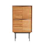 Highboard Wing , Oak Natural/oil